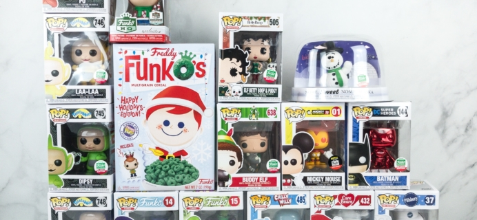 Funko 12 Days of Christmas 2018 Bundle Unboxing