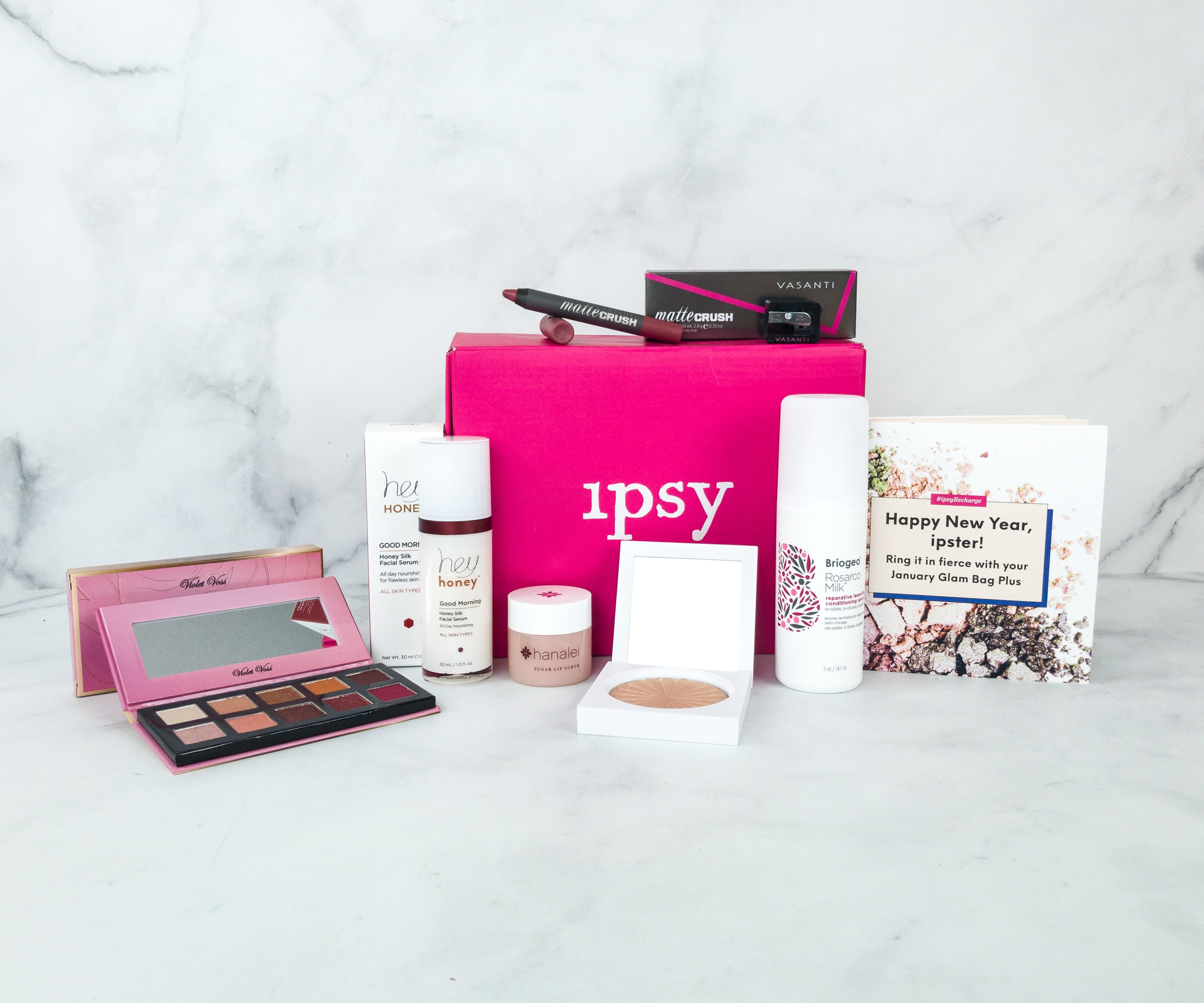 Ipsy Glambag Plus January 2019 Review