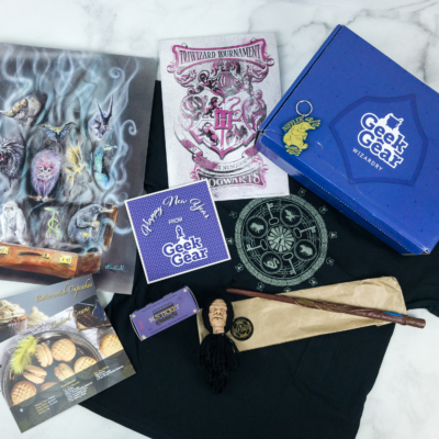 Geek Gear World of Wizardry December 2018 Subscription Box Review & Coupon