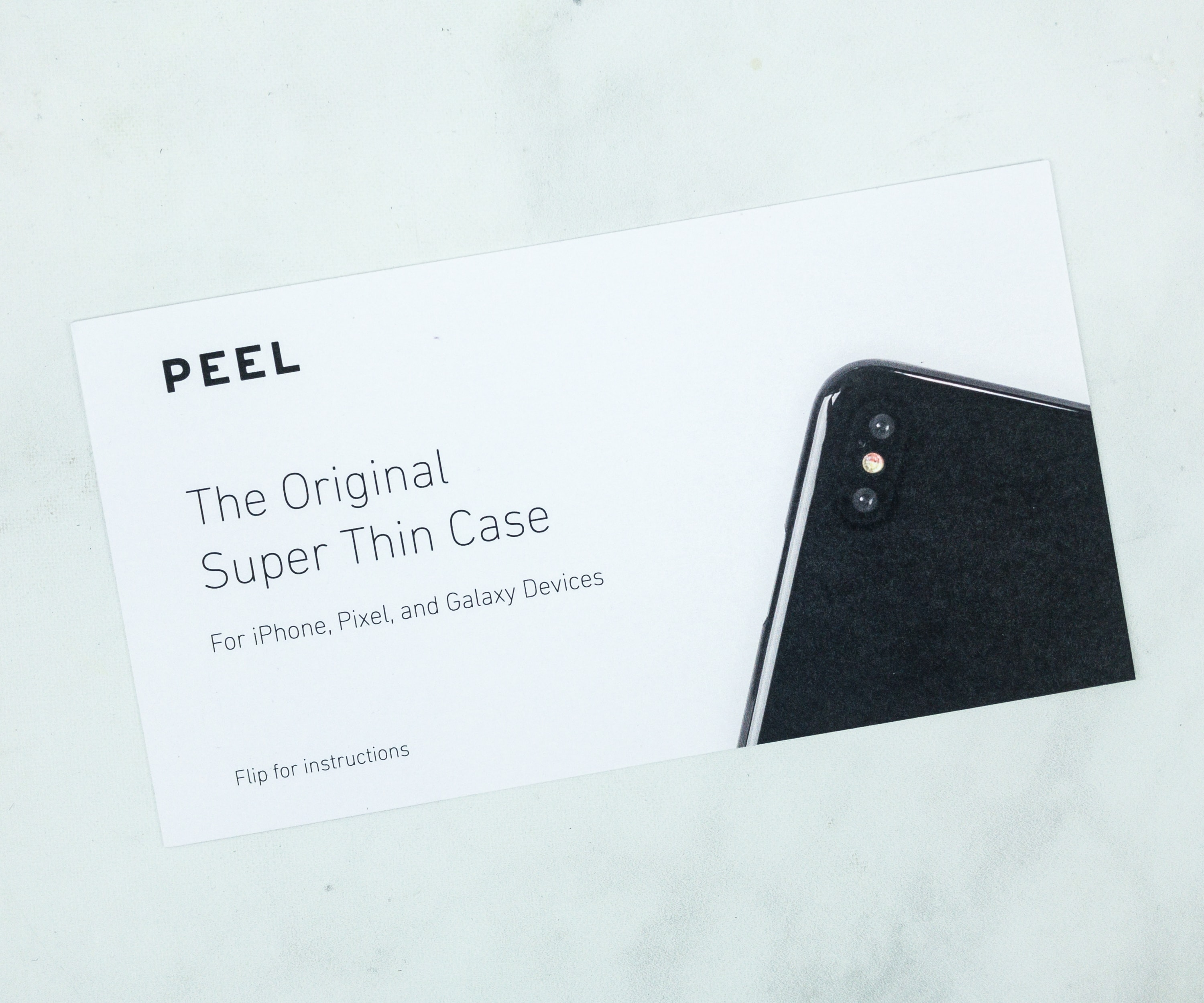 Peel Super Thin Phone Case Gift Card. Peel touts that they will give your phone the thinnest yet most durable case your beloved gadget will ever have!