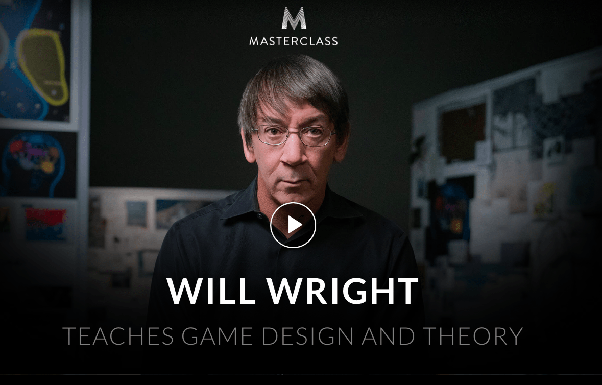 MasterClass Will Wright and Jodie Foster Classes Available Now!