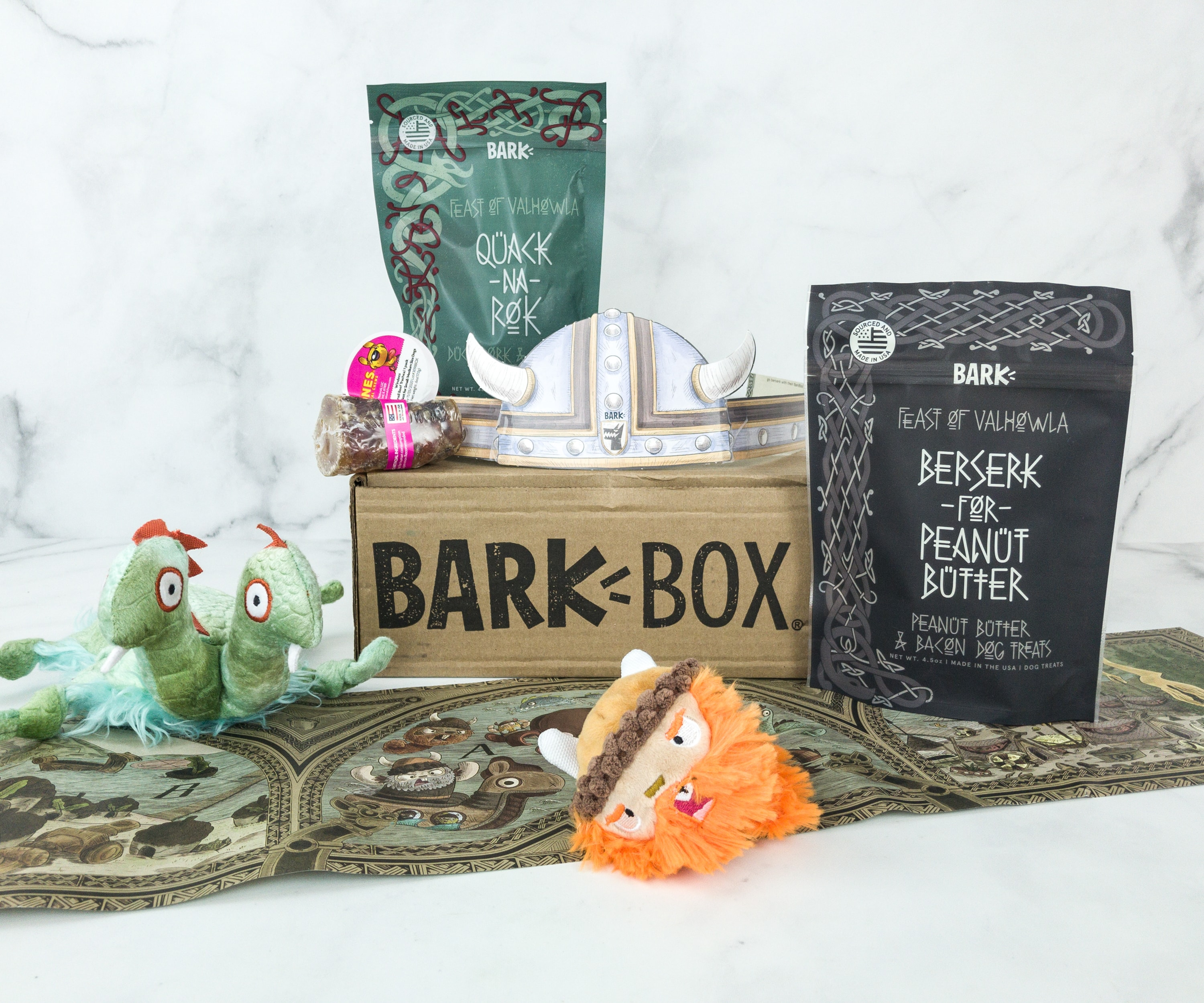 Barkbox January 2019 Subscription Box Review + Coupon