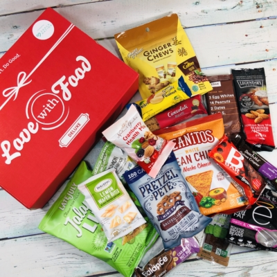 Love With Food January 2019 Deluxe Box Review + Coupon!