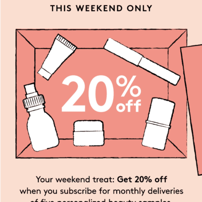 Birchbox Flash Sale: Save 20% on Birchbox & BirchboxMan Subscriptions – This Weekend Only!