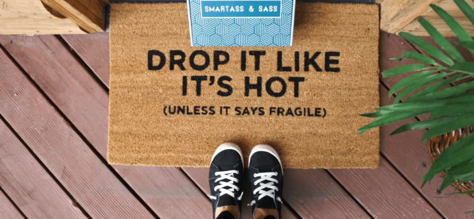 Smartass + Sass Box April 2020 Spoiler #1 + Coupon!