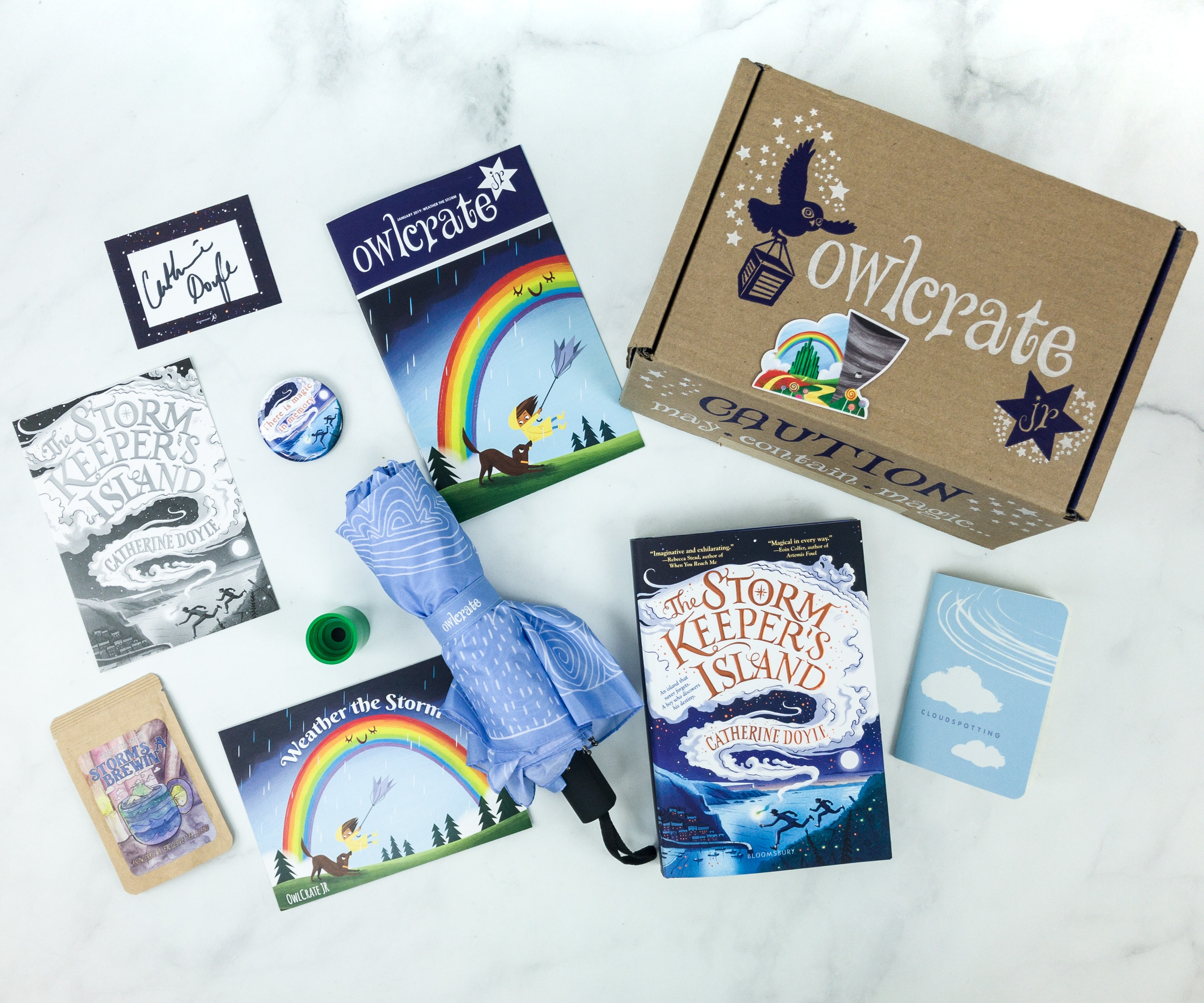 OwlCrate Jr. January 2019 Box Review & Coupon