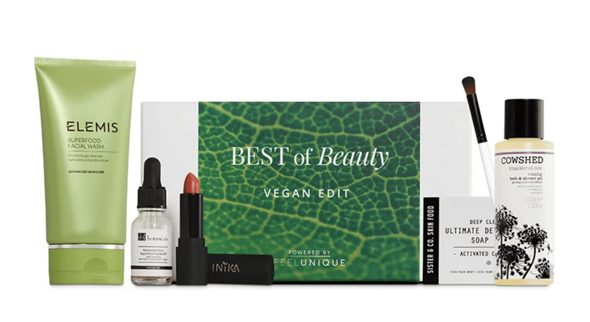 Feel Unique Vegan Beauty Edit Box Available Now + Full Spoilers!