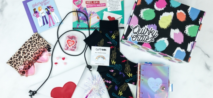 Quirky Crate January 2019 Subscription Box Review + Coupon