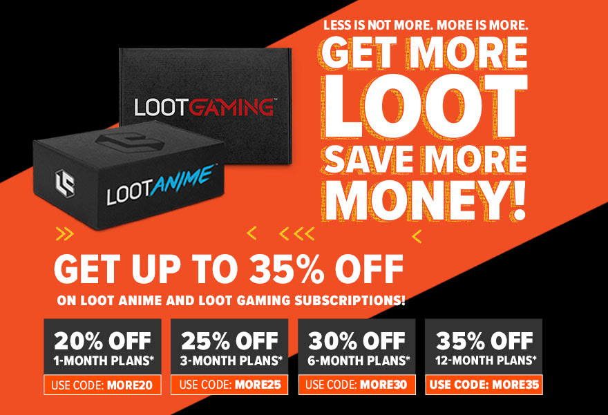 Loot Crate Sale: Get Up To 35% Off On Loot Anime & Loot Gaming!