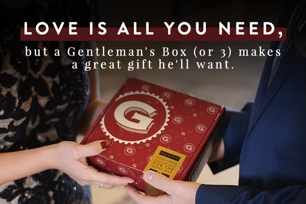 Gentleman's Box Valentine's Day Sale: Get The Valentine Bundle For Only $60!