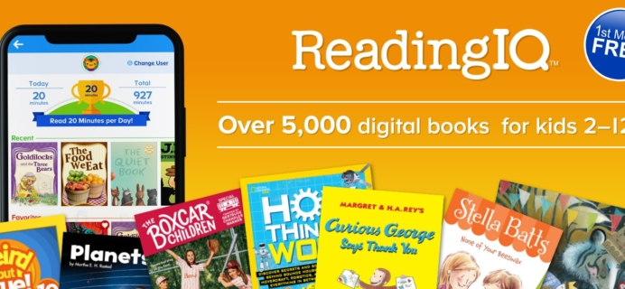 ReadingIQ Coupon: Get One Month FREE Trial!