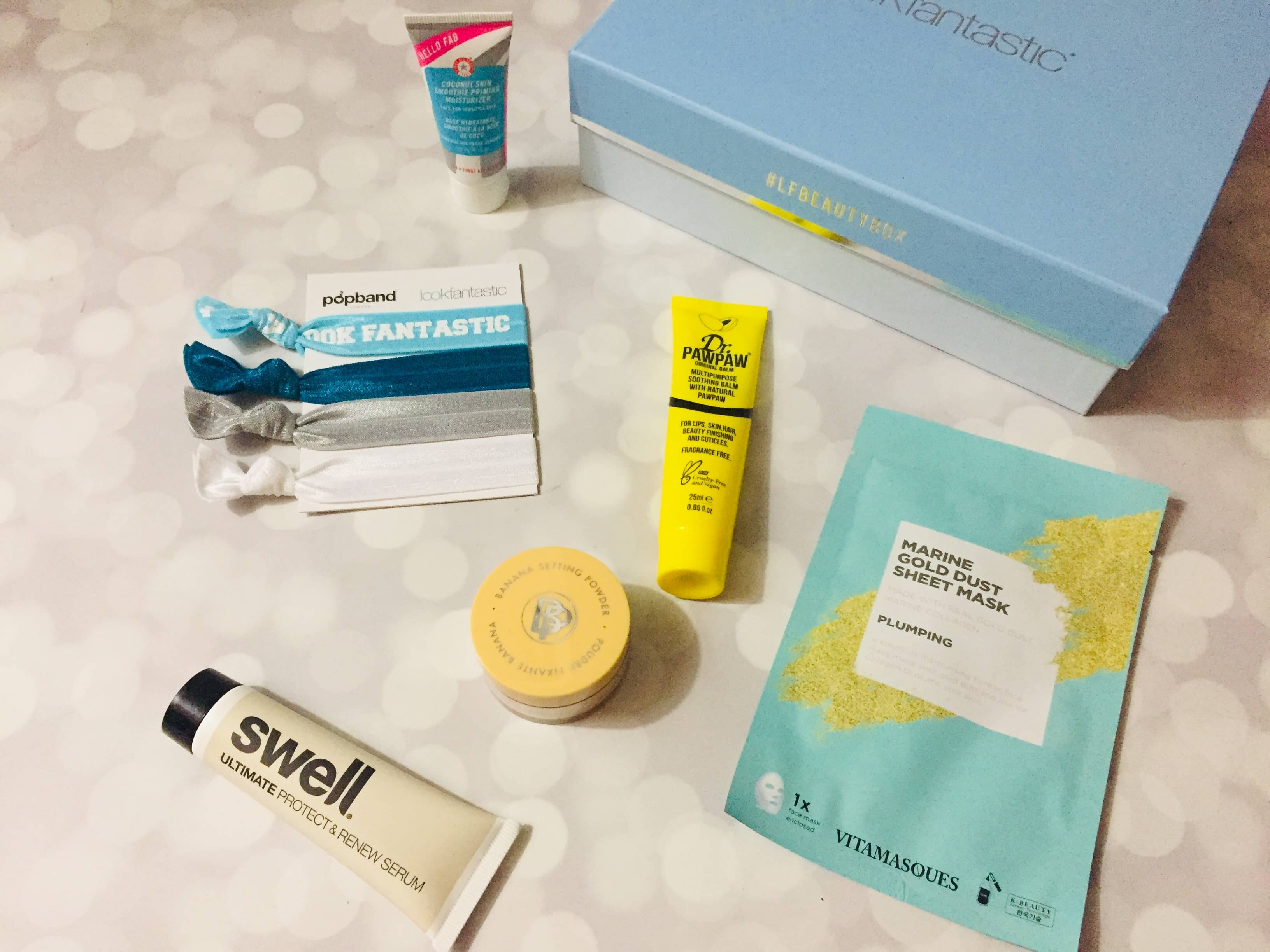 Look Fantastic Beauty Box January 2019 Subscription Box Review