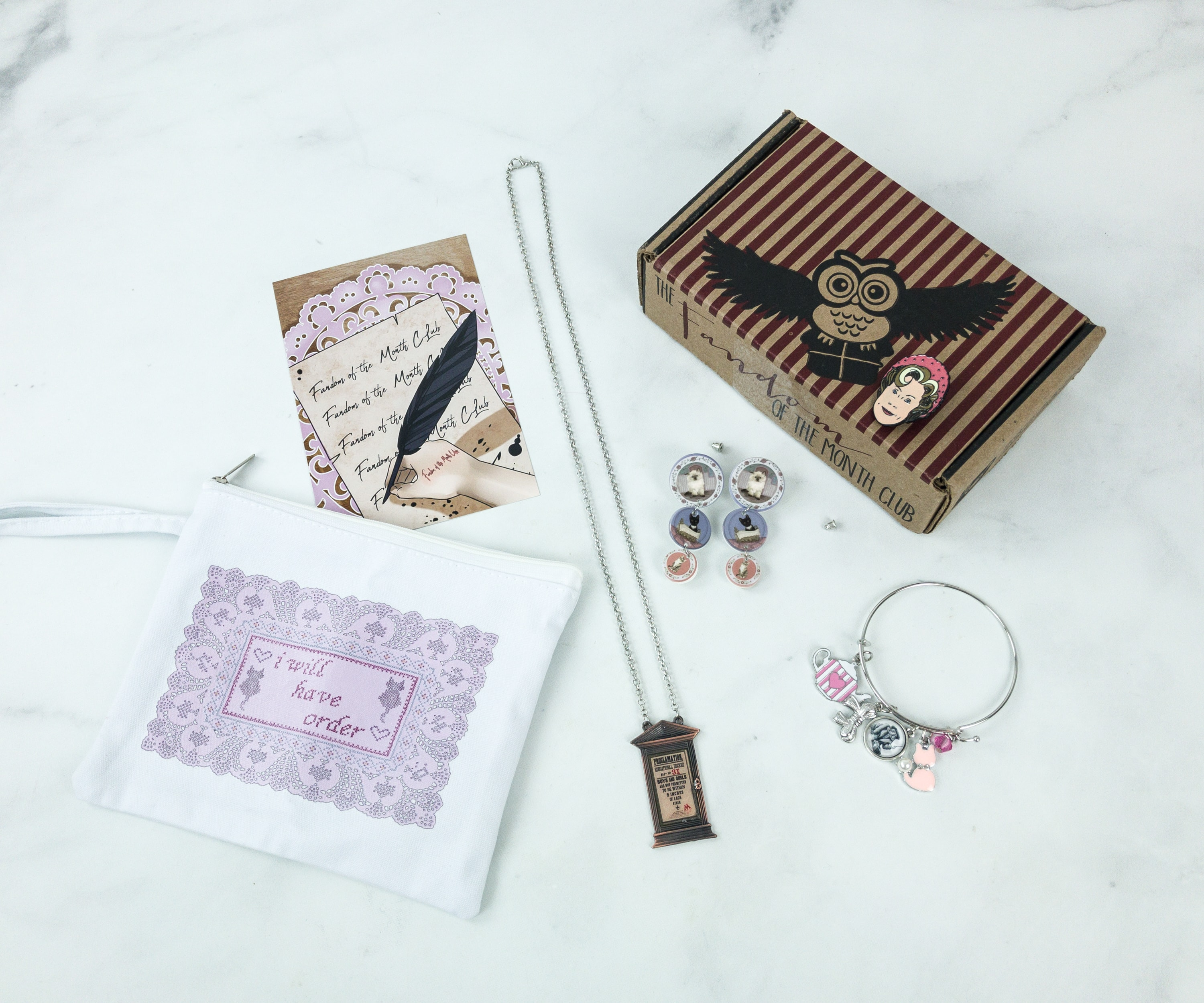 Fandom of the Month Club May 2018 Subscription Box Review