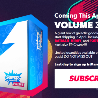 Super Geek Box Prime Volume 3 Franchise Spoilers + Coupon!