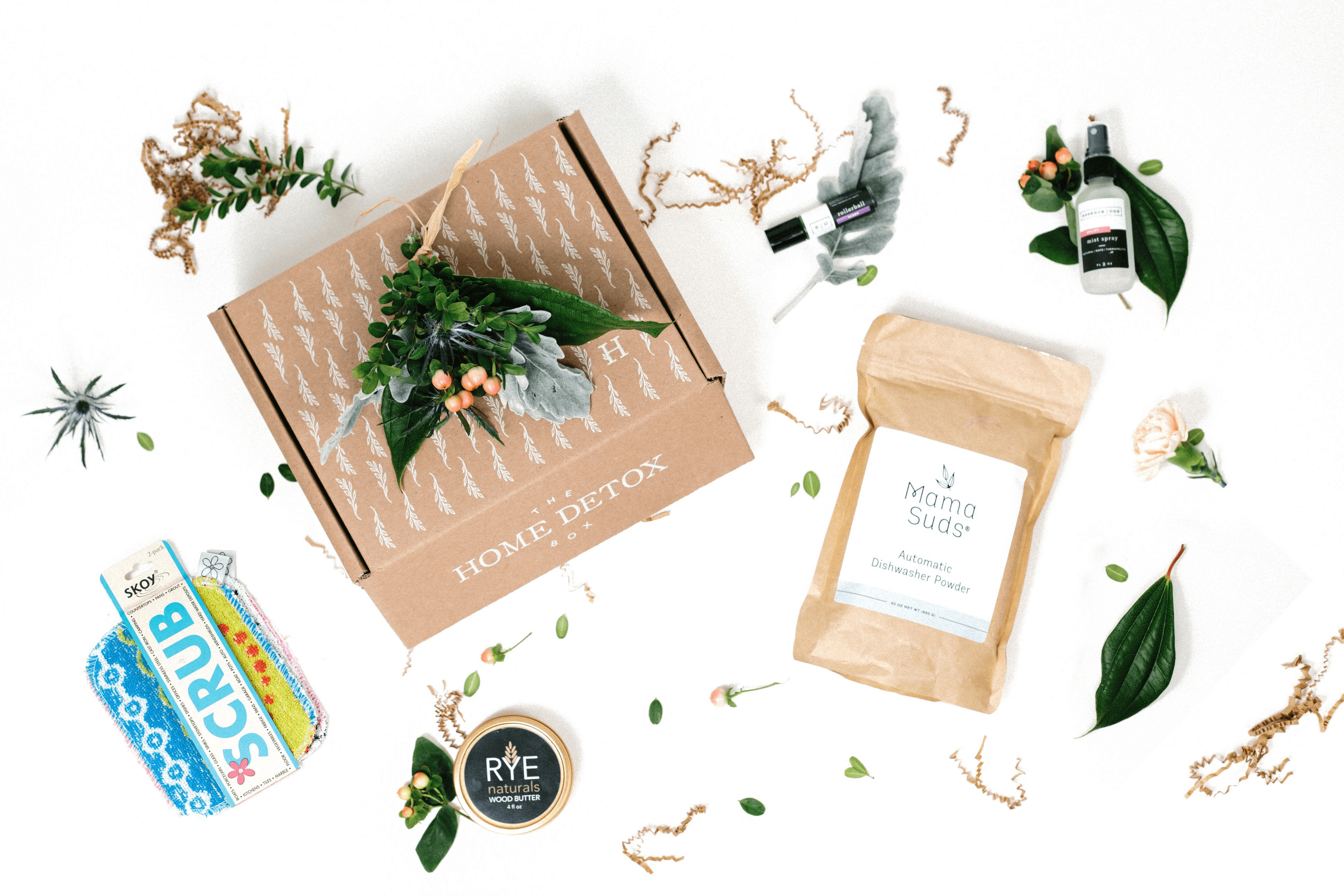 The Home Detox Box Coupon: Take 15% off your first box!