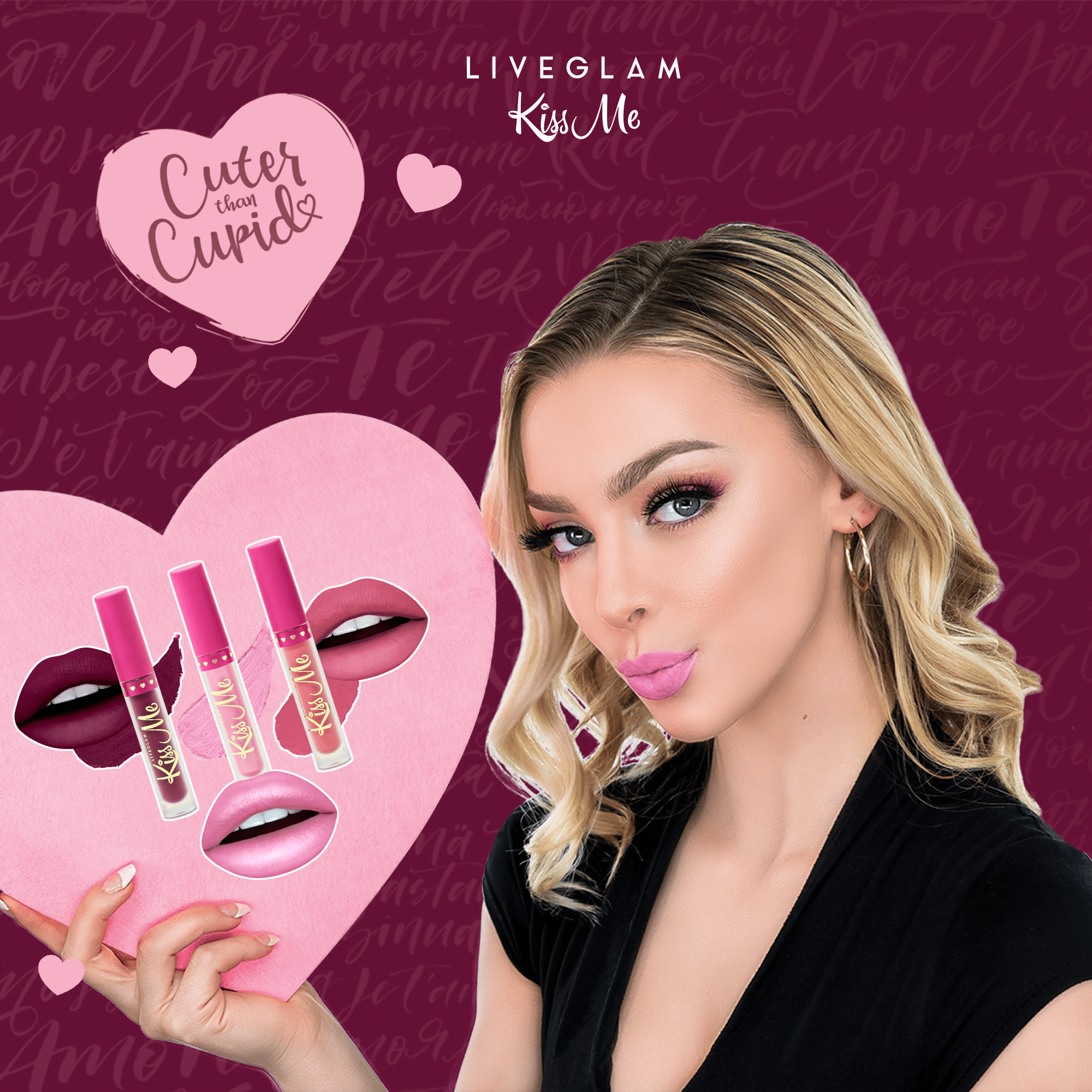 LiveGlam KissMe February 2019 Full Spoilers + Coupon!
