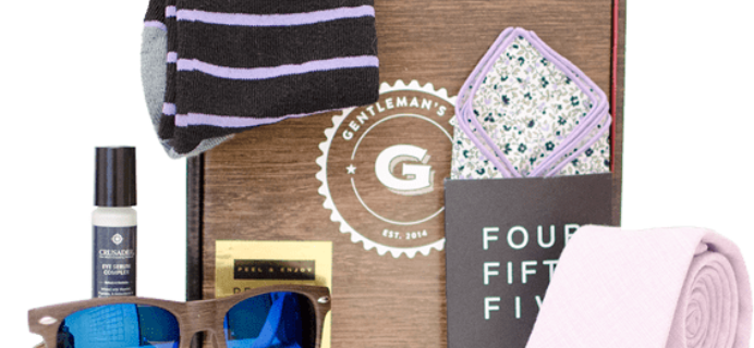Gentleman's Box Coupon: Save 20% On First Box!