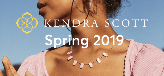 RocksBox Kendra Scott Spring 2019 Collection Available Now + Coupon!