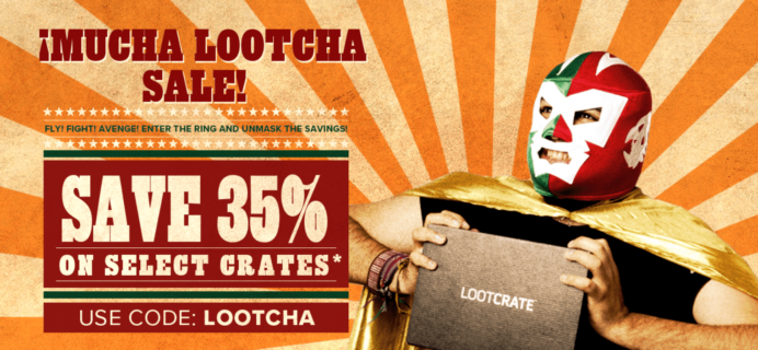 Loot Crate Sale: Get 35% Off On Select Crates! LAST DAY!