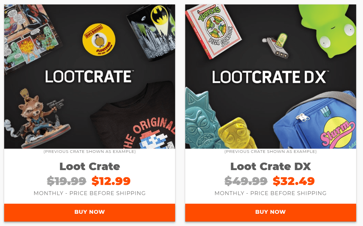 Loot Crate Sale Get 35 Off On Select Crates Last Day