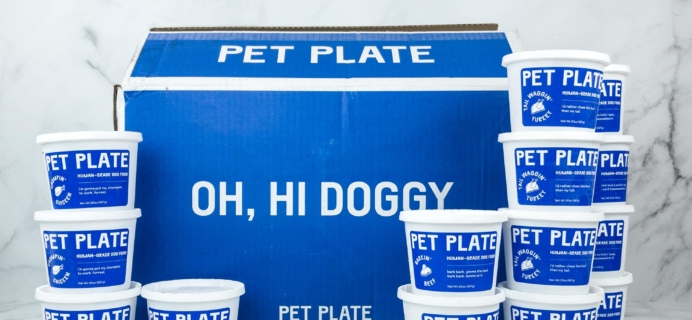 Pet Plate Dog Food Subscription Review + Coupon! – CHICKEN MEAL BOX