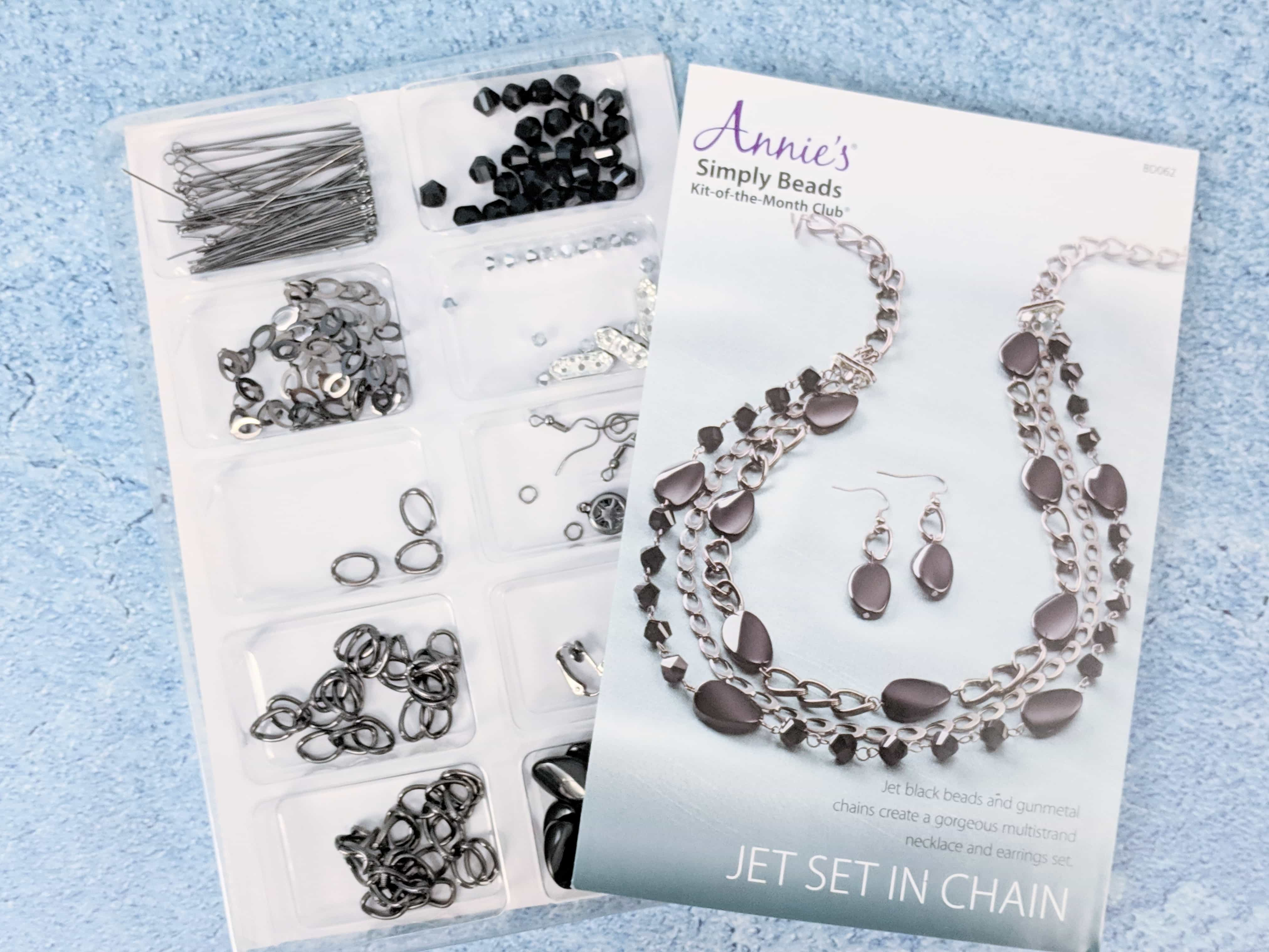Annie's Simply Beads November 2018 Kit-of-the-Month Club Subscription Box Review