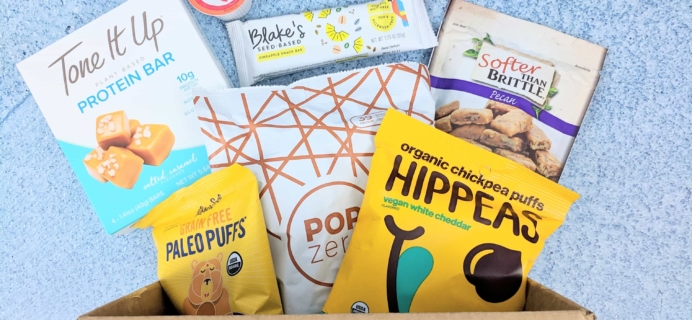 Vegan Cuts Snack Box January 2019 Subscription Box Review
