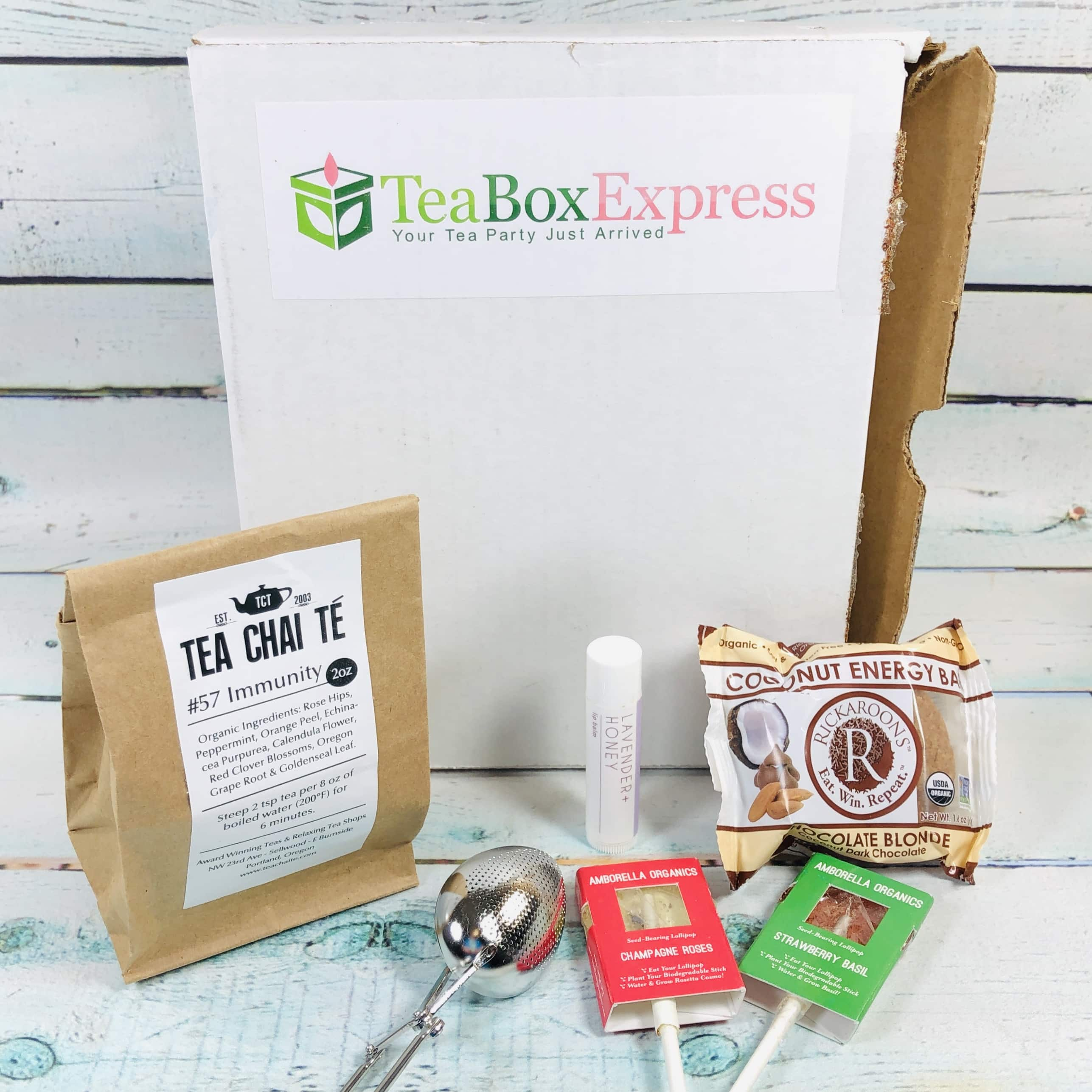 Tea Box Express January 2019 Subscription Review & Coupon