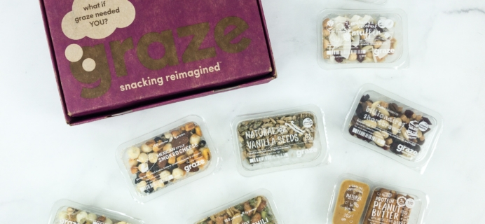 Graze Variety Box Review & Free Box Coupon – February 2019