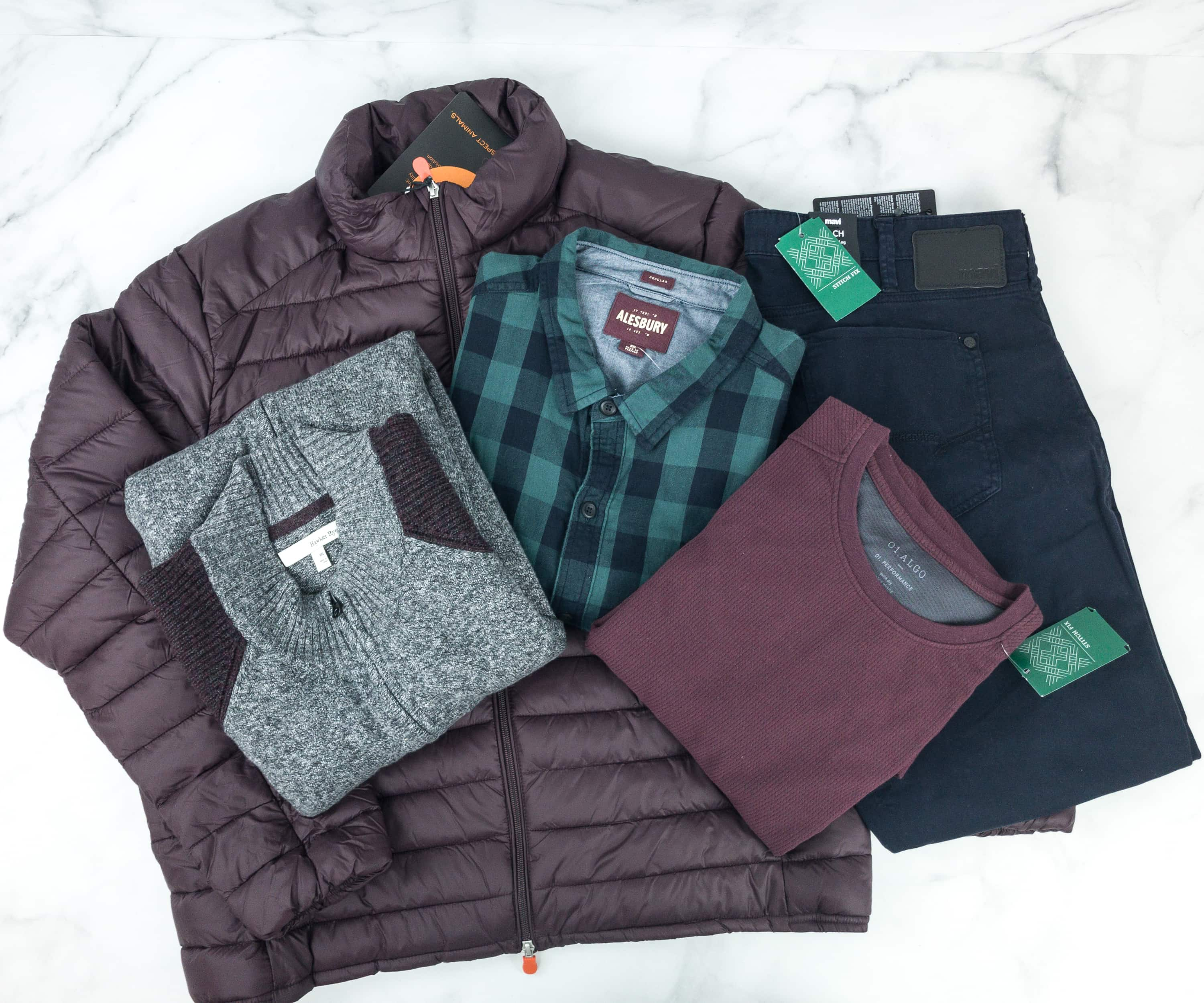 Stitch Fix Men January 2019 Review