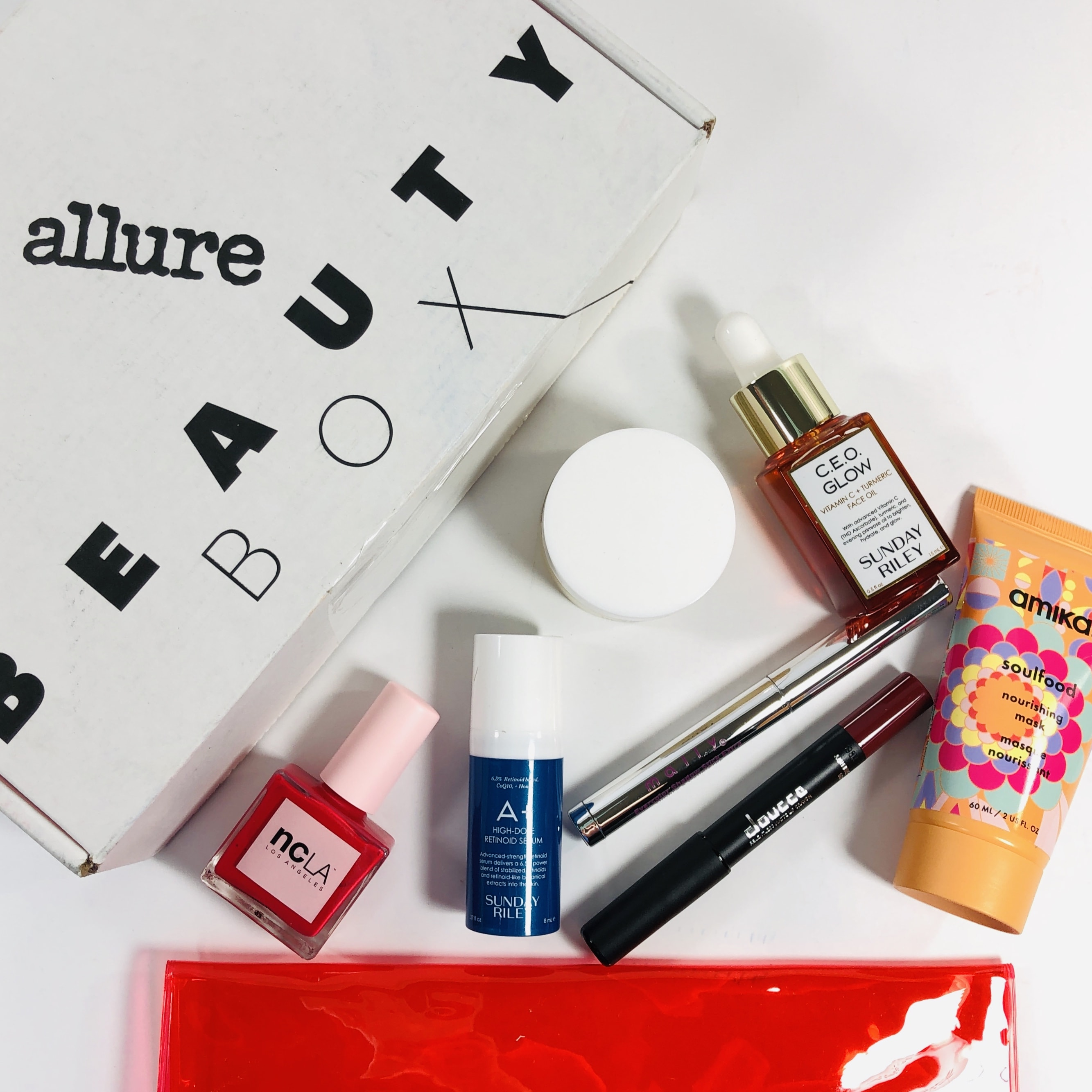 Allure Beauty Box January 2019 Subscription Box Review & Coupon