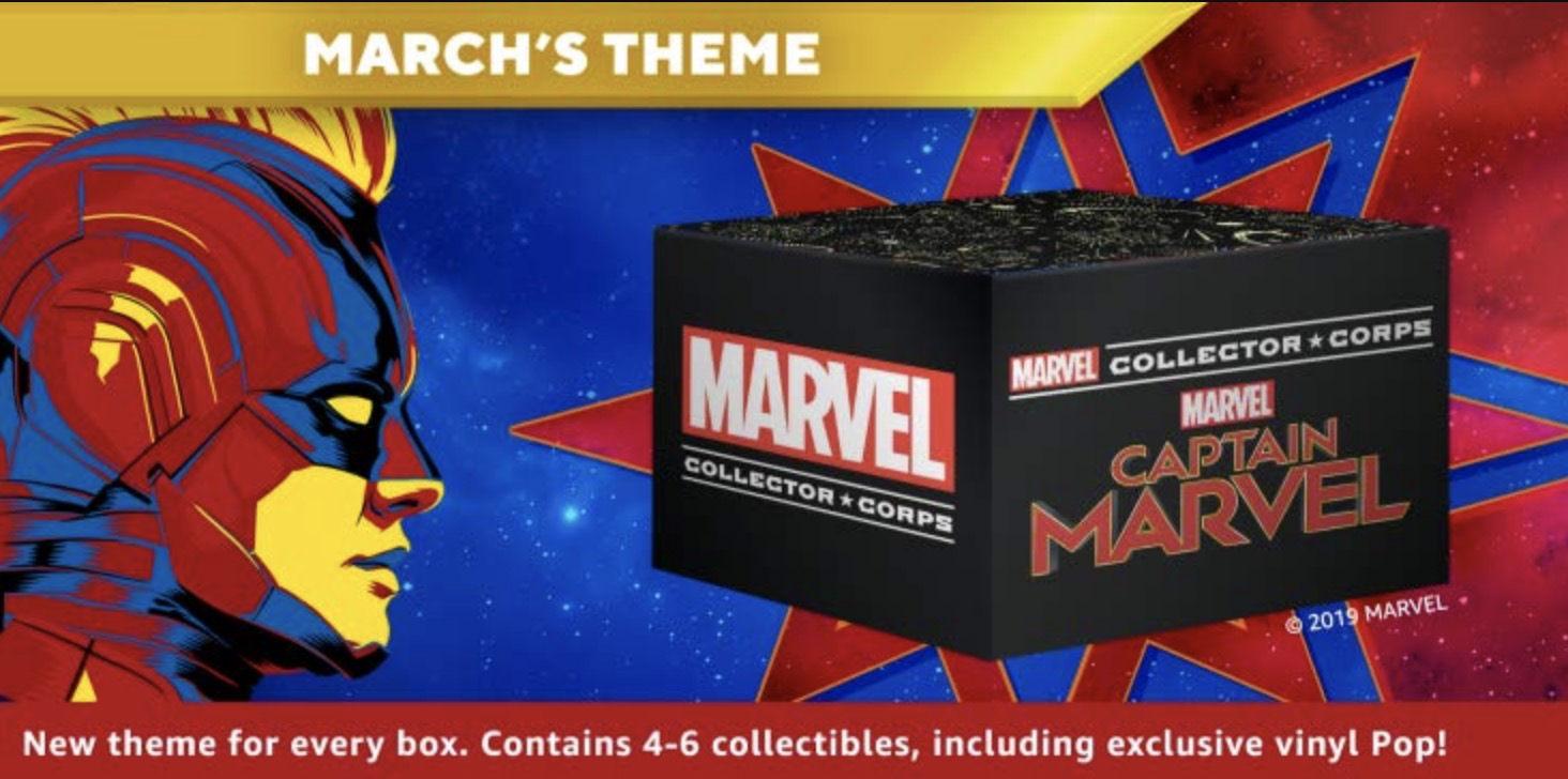 Marvel Collector Corps March 2019 Theme Spoilers!