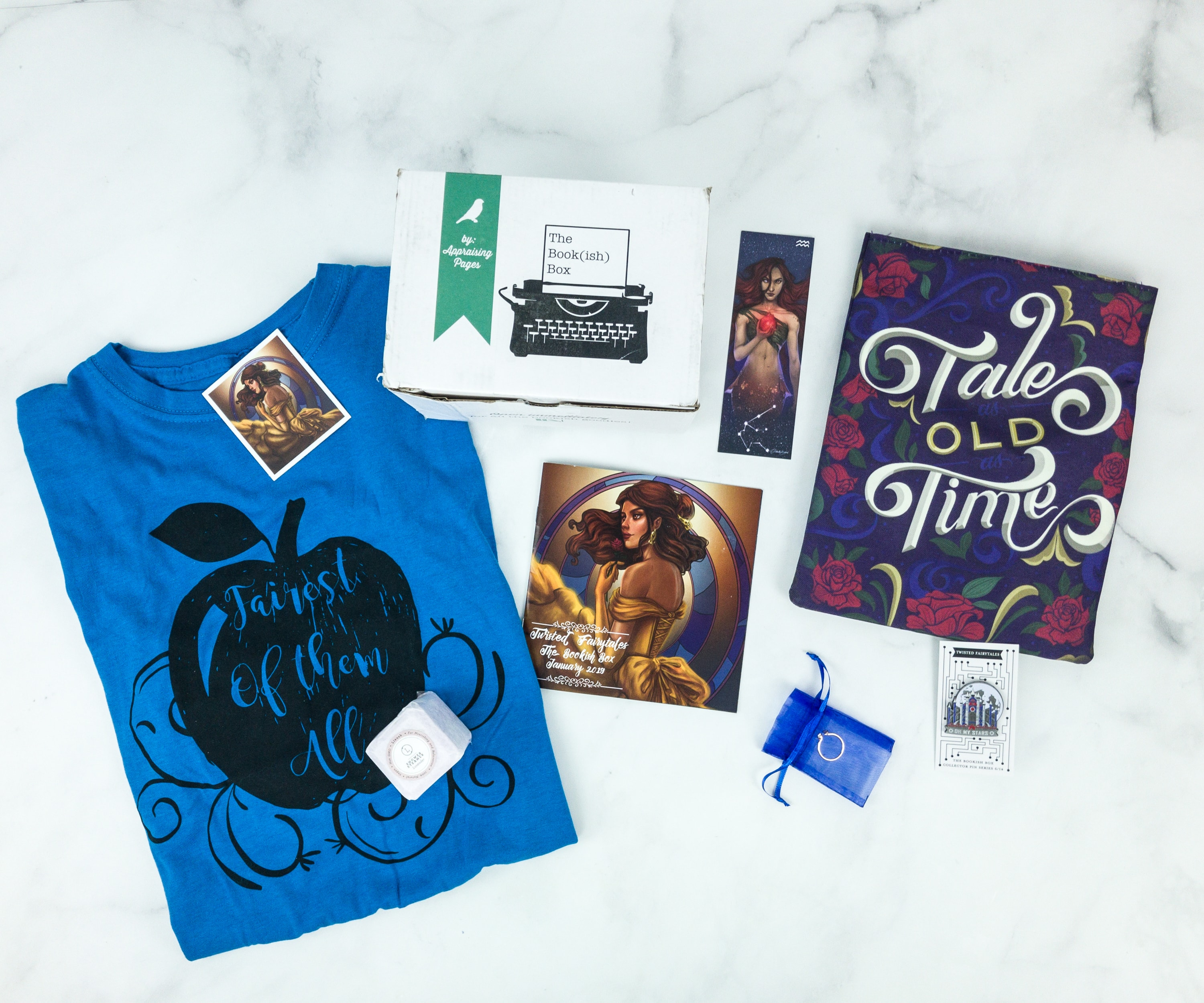 The Bookish Box January 2019 Subscription Box Review + Coupon
