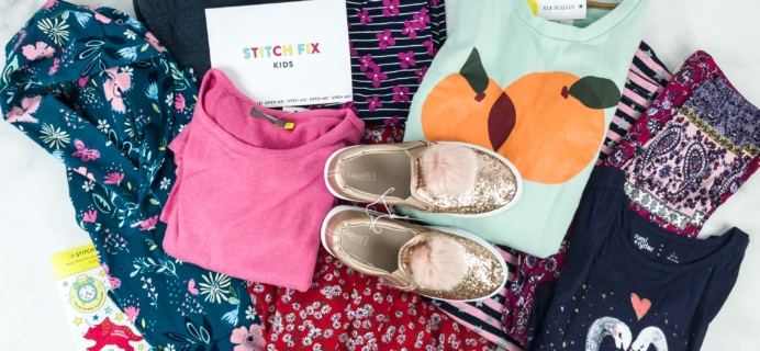 Stitch Fix Kids January 2019 Girls Review