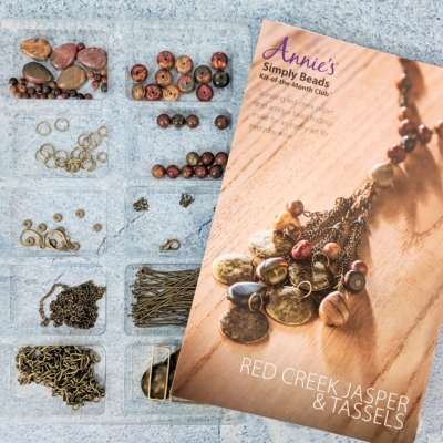 Annie's Simply Beads December 2018 Kit-of-the-Month Club Subscription Box Review