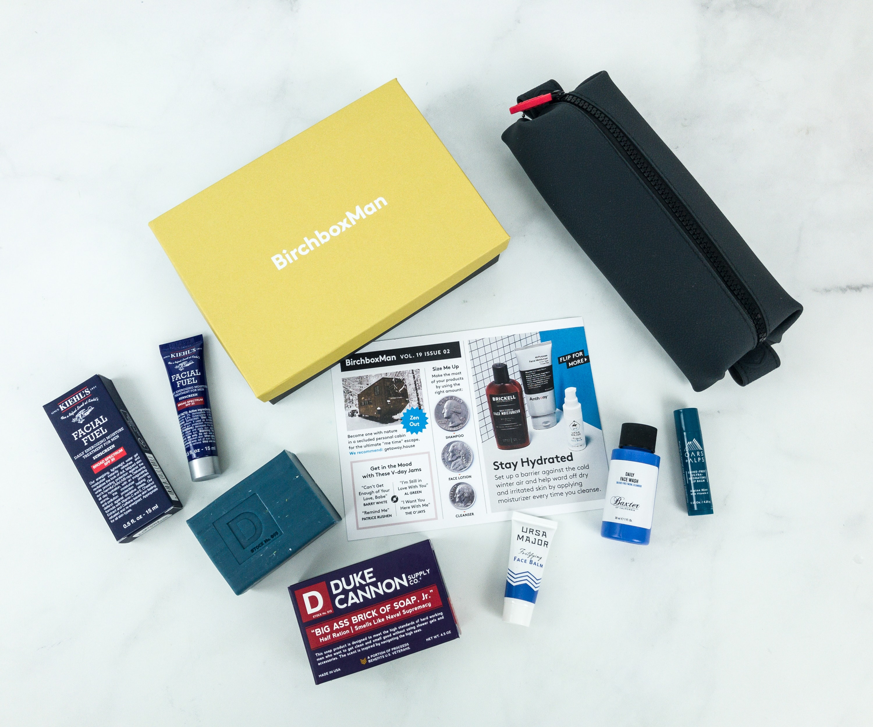Birchbox Man February 2019 Subscription Box Review & Coupon