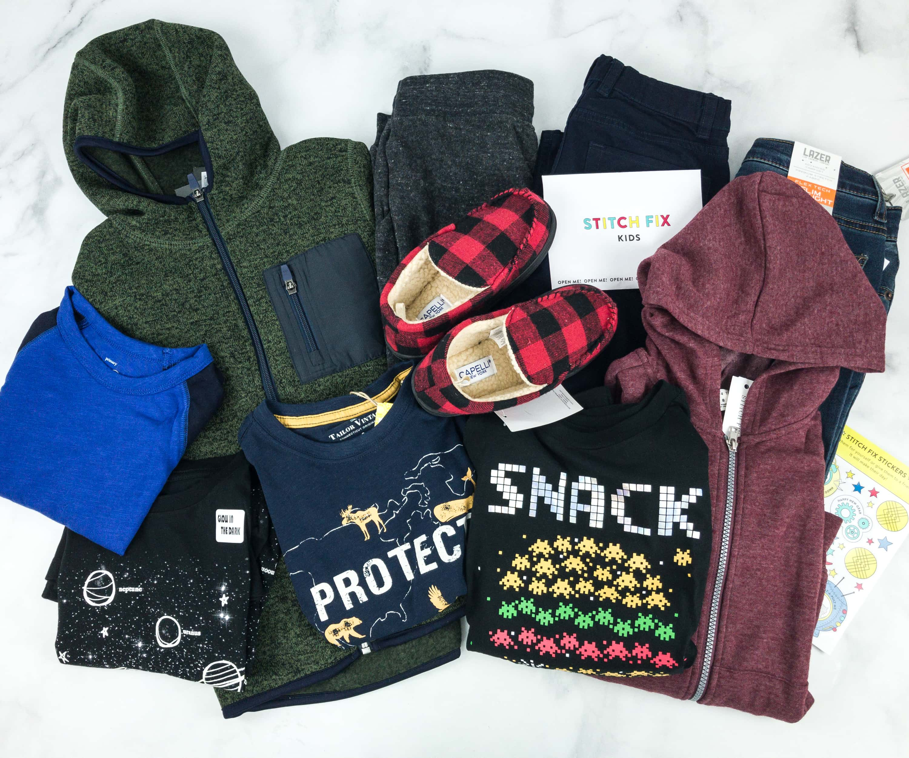 Stitch Fix Kids January 2019 Boys Review