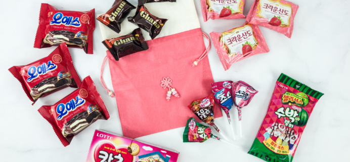 Korean Snack Box February 2019 Subscription Box Review + Coupon