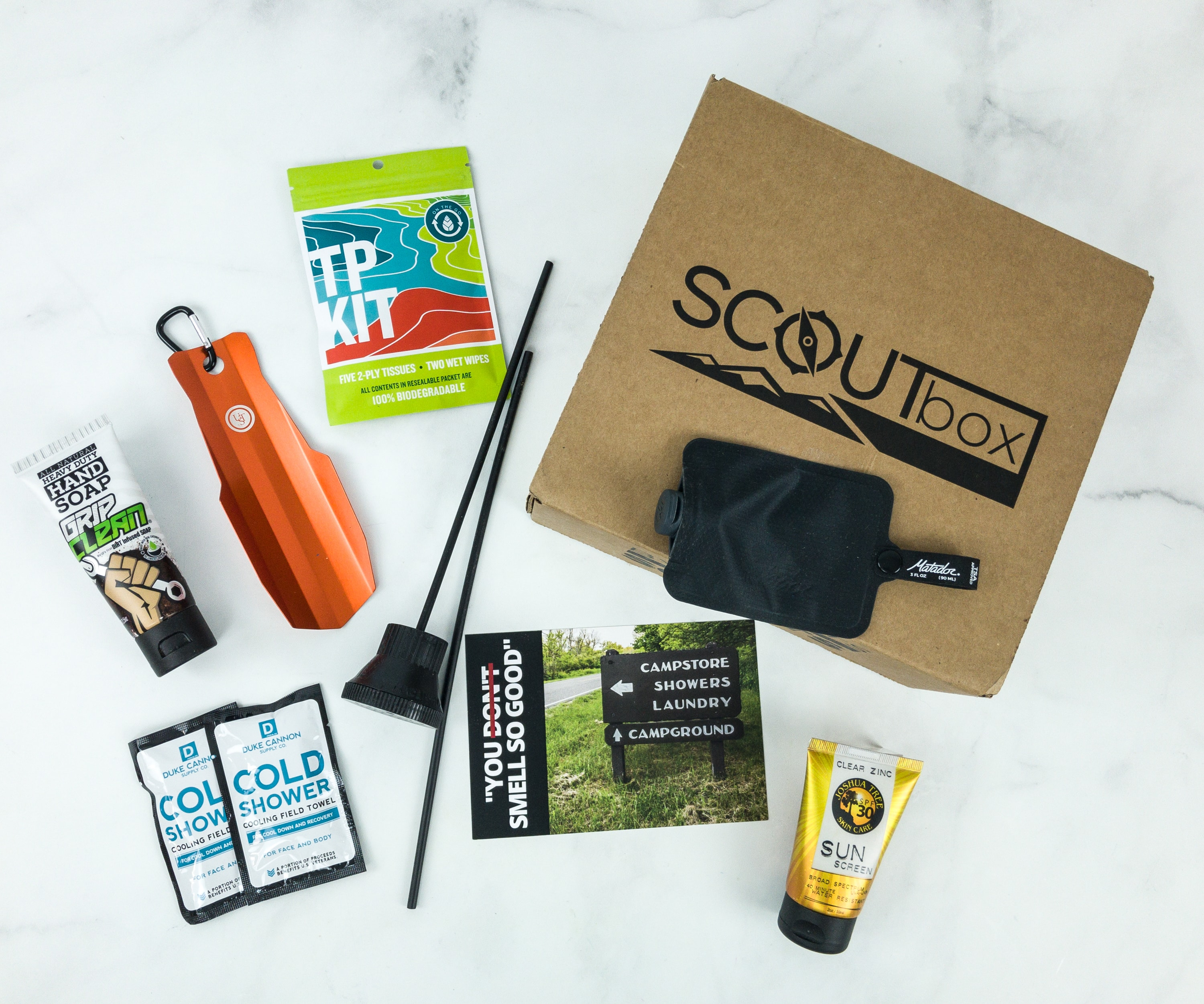 SCOUTbox January 2019 Subscription Box Review + Coupon
