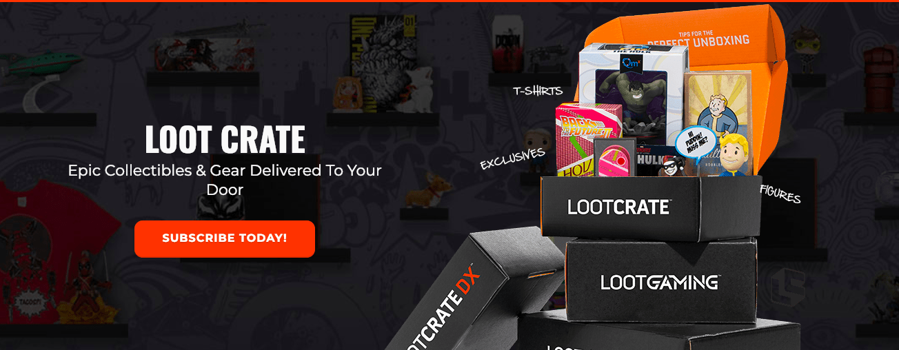 Loot Crate Sale: Get 35% Off On Select Crates!