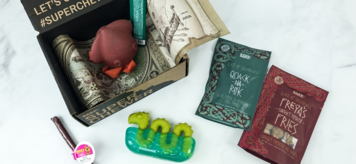 Super Chewer January 2019 Subscription Box Review
