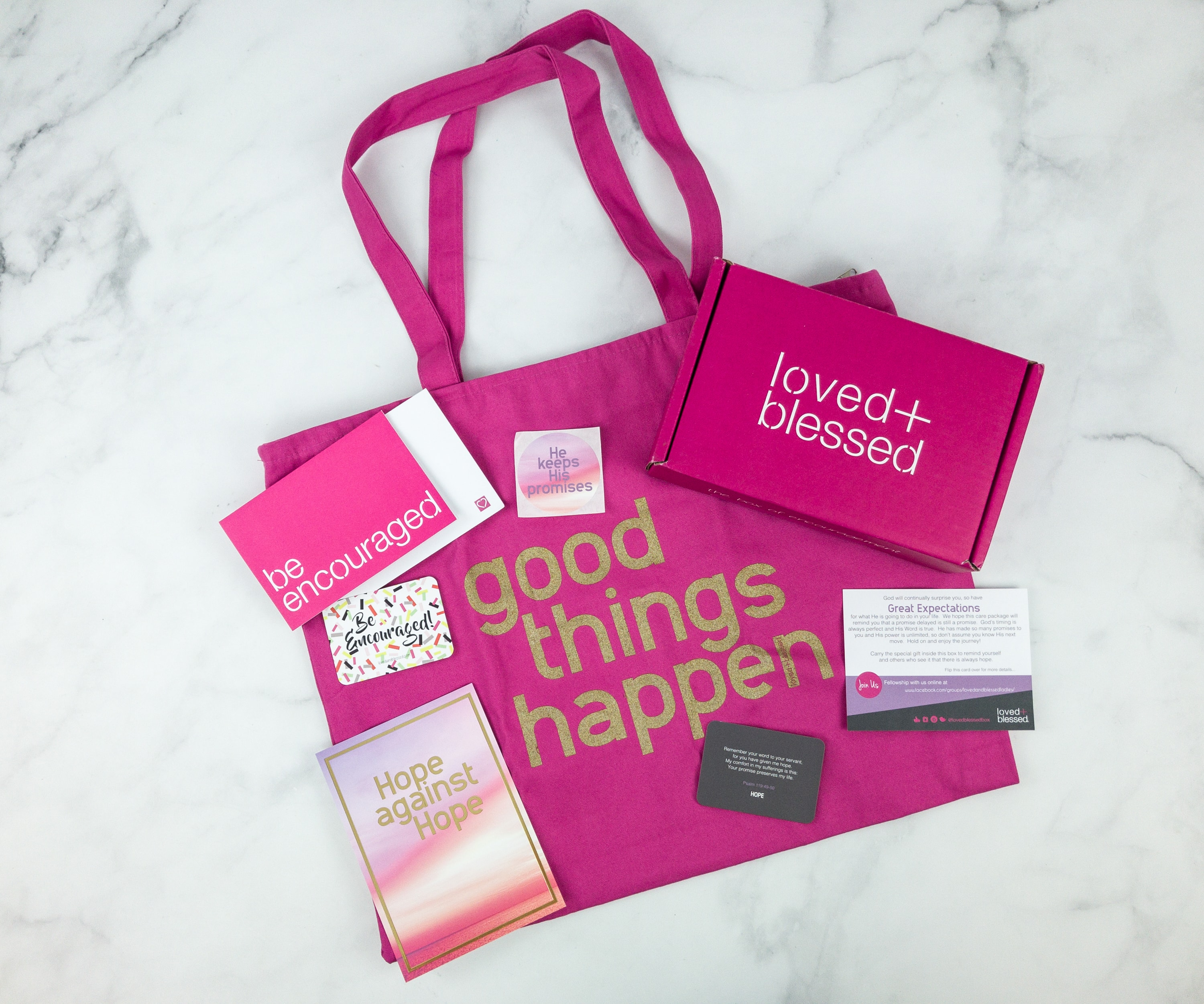 Loved+Blessed February 2019 Subscription Box Review + Coupon