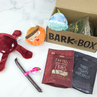 Barkbox January 2019 Subscription Box Review + Coupon – Large Dog