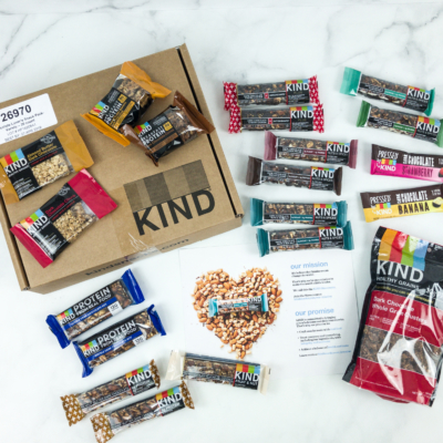 KIND Snack Club Subscription Box Review + $20 Off Coupon – Chocolate Lovers Snack Pack