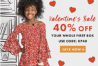 Kidpik Valentine's Sale: 40% Off On Your First Box! Last Call!