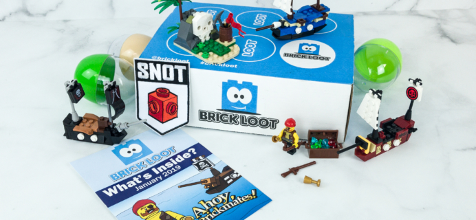 Brick Loot January 2019 Subscription Box Review & Coupon