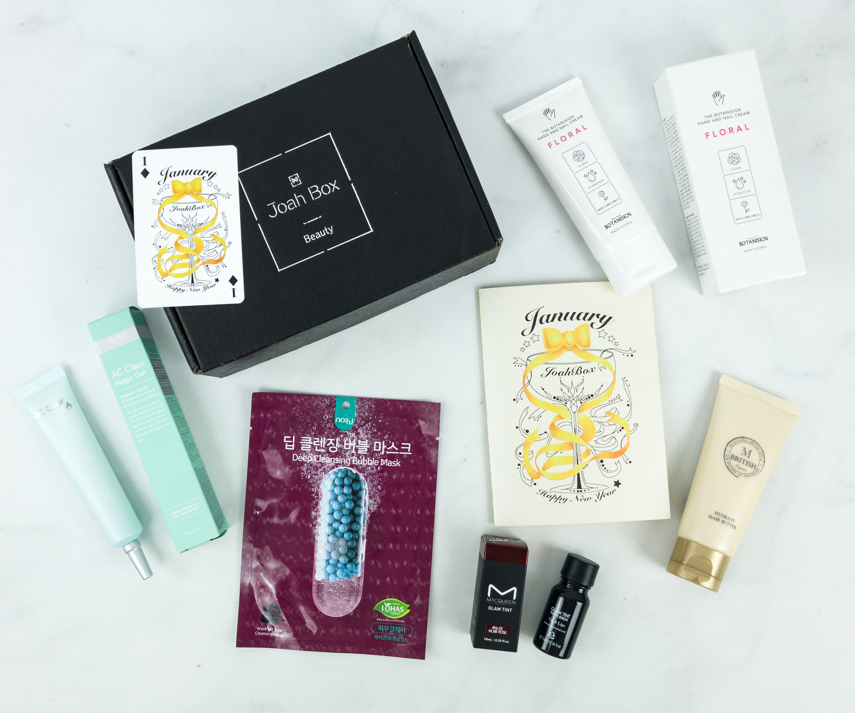 JoahBox January 2019 Subscription Box Review + Coupon