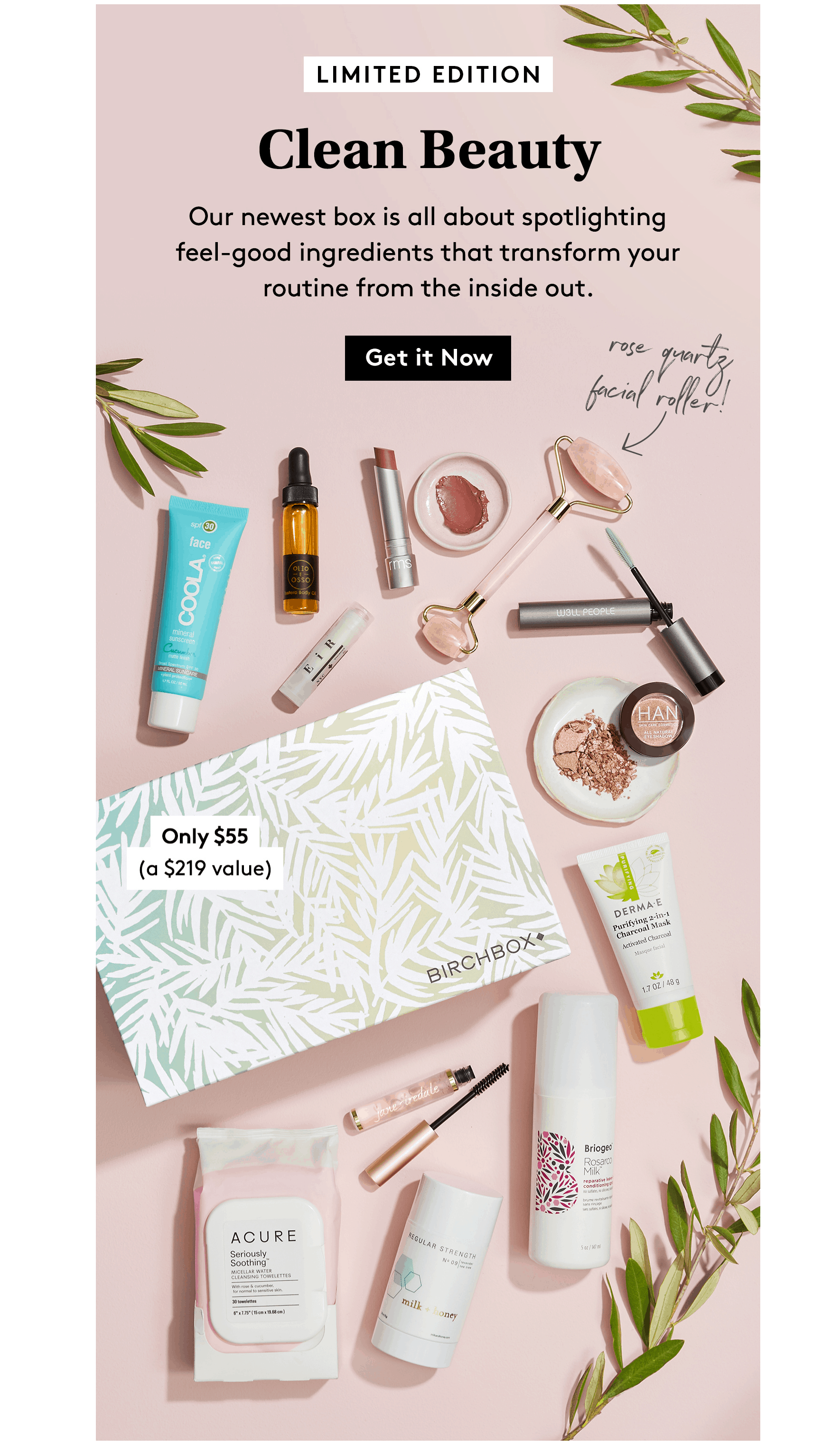 Birchbox Limited Edition Clean Beauty Box Available Now + Coupon!