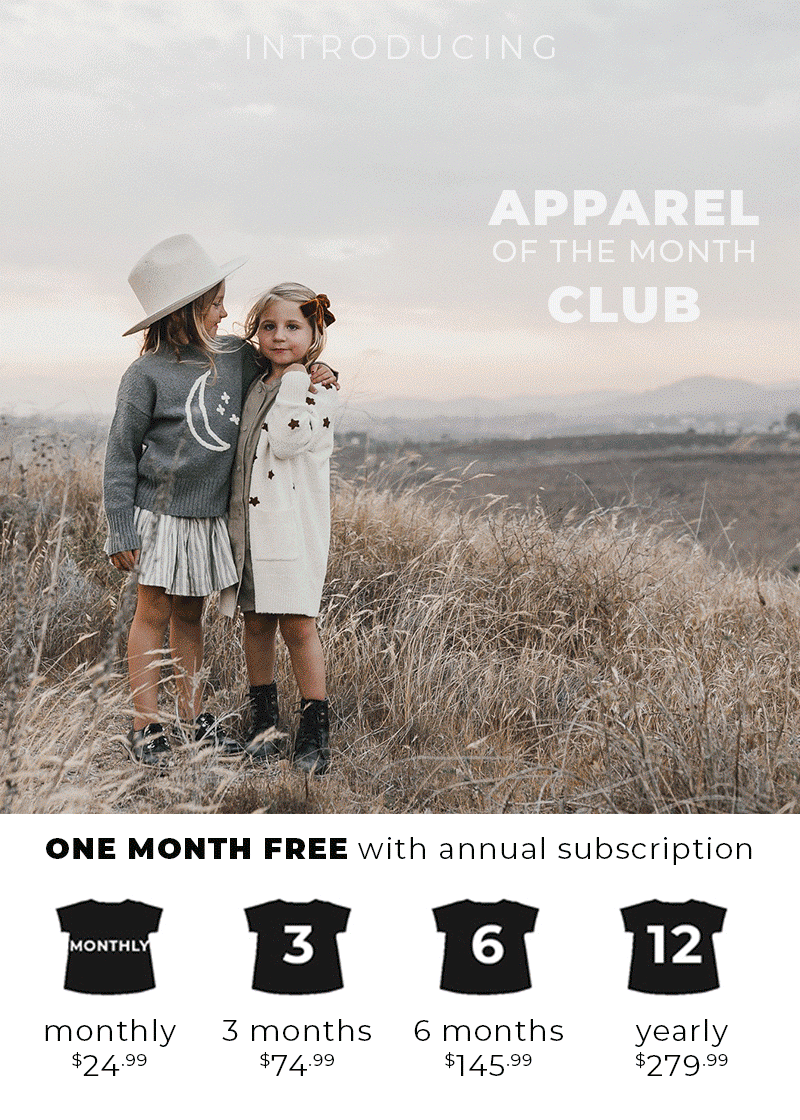 Why and Whale New Apparel of The Month Club Box for Pre-order!