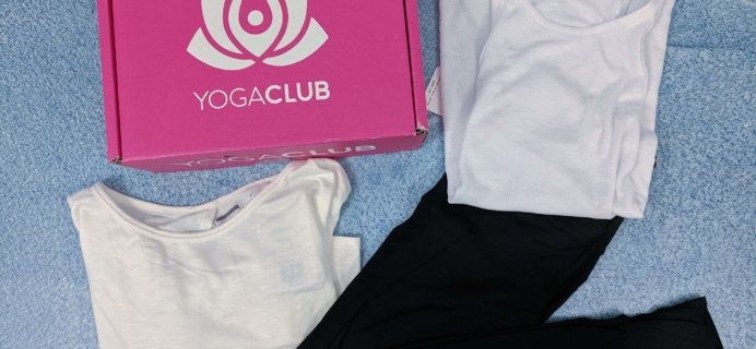 YogaClub Subscription Box Review + Coupon – January 2019